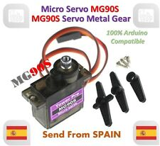 MG90S 9g Metal Gear Upgraded SG90 Digital Micro Servos for Arduino