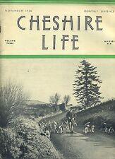 CHESHIRE LIFE NOVEMBER 1936 VOLUME THREE NUMBER SIX