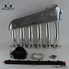 For BMW E36 E46 M50 M52 325i 328i Intake Manifold +Throttle body+ Fuel Rail Kit
