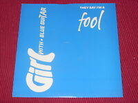 """Girl With Blue Guitar:   They Say I'm A Fool  UK  Near Mint 7""""  Indie Twee"""