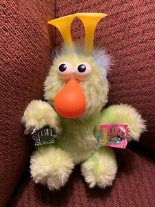 Applause Mini Honker Sesame Street Muppets Stuffed Plush Toy Lime Green #14290
