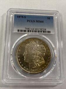 1878-S $1 PCGS MS64