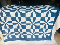 VINTAGE QUILT 1930's Whirlwind 72x74