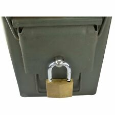 Ammo Box Can Lock Hardware Kit - Works on 50 Cal Fat 50 30 Cal 20 mm 5 count