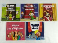 Lot de 5 livres pour enfants C est comme ca Nathan Hachette Mc Do  Envoi suivi