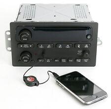 Chevy Malibu Impala Cavalier 2000-05 Radio AMFM CD w Upgraded Aux Input 10346316