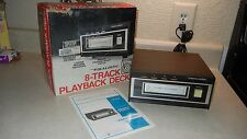 New listing Realistic Tr-700 8 Track Stereo Tape Player Recorder Model 14-930