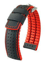 HIRSCH PERFORMANCE ROBBY WATCH STRAP WATERESISTANT 20, 21, 22, 24 mm US
