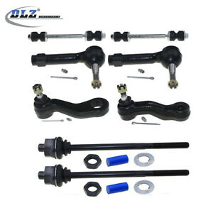 DLZ 8pc Complete Front Suspension Kit for 1999-2006 Chevy GMC Cadillac Truck