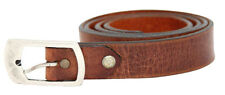 "MAC Jeans Hommes Cuir Ceinture MEN LEATHER BELT TAILLE 95 37"" Made In Italy Nouveau"