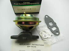 Carter 33-112 EGR Valve