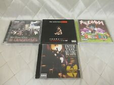 Wu-Tang Clan Redman Notorious B.I.G. CD Lot of 4 Ready to Die Red Gone Wild
