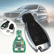 Uncut Smart Remote Key Fob 3 Button 433MHz With Chip for Mercedes-Benz 2000+