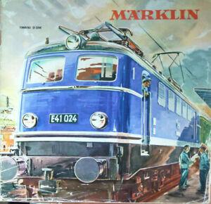 Märklin Katalog 1960/61 D DM Original