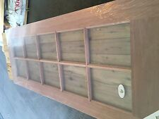 Maple 10 panel glass French door 2040x820x40
