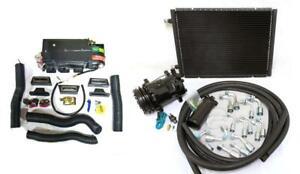 Gearhead Mini AC Heat Defrost A/C Air Conditioning Kit w/ Compressor Fittings