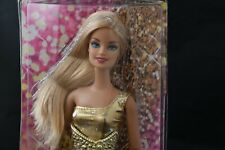 2012 Barbie Fashionistas Articulated Doll - SIlver sparkle highlights