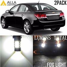 Alla Lighting Fog Light 54-SMD H11 Super White LED Bulbs Driving Lamps for Chevy