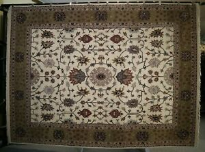 """9'0"""" x 12'1"""" ft. Hand Knotted Oriental Wool Rug"""