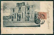 Catania Città Chiesa Benedettini cartolina XB5196