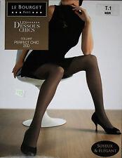 NEUF @@ COLLANT SATINé NOIR + LE BOURGET Perfect Chic 20 D +  1/2/3 ou 4