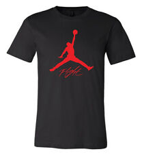 Jordan Flight Jumpman Red Big logo T-shirt 6 Sizes S-5XL!!