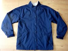 Dryjoys By Footjoy Ladies Golfing Wind Cheater Navy Blue Jacket Size Small