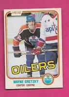1981-82 OPC # 106 OILERS WAYNE GRETZKY GOOD CARD (INV# D2005)