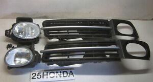 06-08 Acura TL Factory Stanley Fog Lights Trim Set OEM Type S Aspec Rare