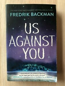 Us Against You By Fredrik Backman, Paperback 2018