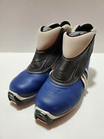 Salomon e4 Cross Country Ski Boots Blue XC Size EUR 41 US 9-9.5 ~i1