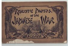 Souvenir of The Japanese War Scenes circa 1904 Russo-Japanese War