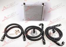 UNIVERSALE MOTORE TRASMISSIONE Radiatore olio KIT 30 LINEE 10AN + filtro