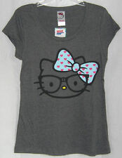 Hello Kitty NERDY TEE SCOOP NECK NICE GIFT FREE USA SHIPPING XLARGE NWT