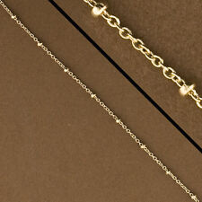 Gold Filled Satellite Chain by the Foot. 14kt Gold Filled Chain. Chain. GFS1324