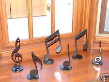 MUSICAL NOTES DECOR METAL HOME ART MUSIC NOTE SET