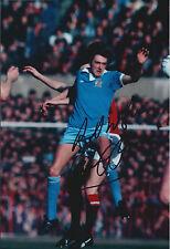 Gary OWEN Signed Autograph 12x8 Photo AFTAL COA Manchester City RARE