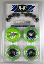HYPER HOCKEY Inline Skate 8 Wheels 72MM/76A 80MM/76A With Bearing Combo #130510