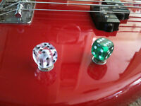 Dice Guitar Knob Volume Tone Massive Choice of colours! Custom 6mm Pot Shaft