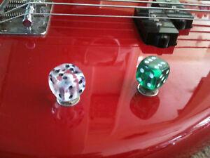 Dice Guitar Knob Volume Tone Massive Choice of colours! Custom 6mm Pot Shaft