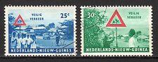 Dutch New Guinea - 1962 Safety in traffic - Mi. 73-74 VFU
