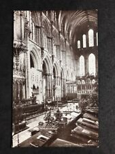 Vintage Postcard #TP260: Tte Choir, Ely Cathedral
