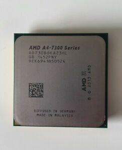AMD A4-7300 Dual Core Processor 3.8 - 4.0 GHz, Socket FM2, 65W CPU