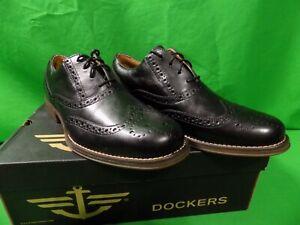 Dockers Thatcher Lace Up Wingtip Oxfords Mens Dress Lace Up Shoes Sz 8 Med NIB