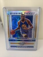 2019/20 CONTENDERS OPTIC KEVIN DURANT WINNING TICKET SILVER INSERT CARD #8