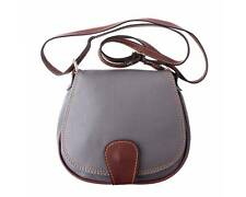 Italian Handmade Leather Small Cross Body Bag in 18 Stunning Colours