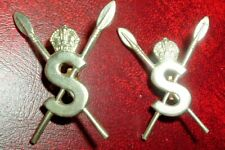 COLLAR BADGES-SCARCE WW2 SOMALILAND SCOUTS PAIR