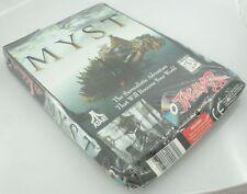 Atari Jaguar CD - MYST - Brand New Factory Sealed DAMAGED BOX