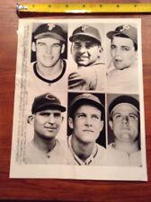 1951 Philadelphia Phillies Baseball Press Photo Sisler Seminick Pellagrini