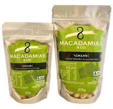 Wasabi Macadamia Nuts - 135g, 275g & 1.25kg